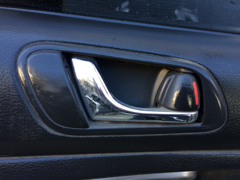 Ручка двери внутренняя Subaru Legacy BL5 задняя правая (б/у)