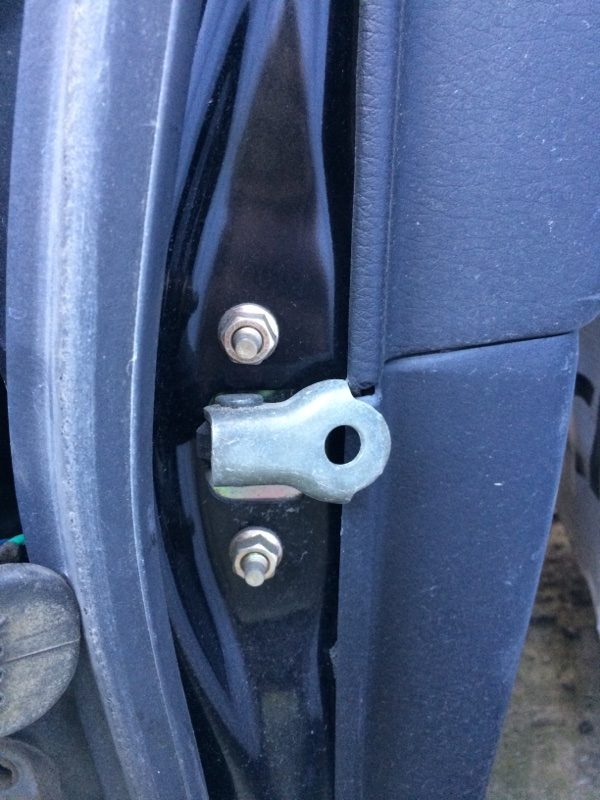 Ограничитель двери Subaru Legacy BL5 задний правый (б/у)