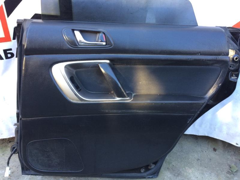Дверная карта Subaru Legacy BL5 задняя правая (б/у)