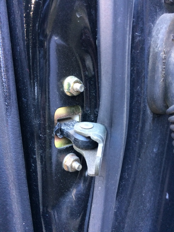 Ограничитель двери Subaru Legacy BL5 передний левый (б/у)