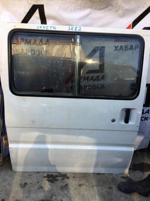 Дверь боковая Mazda Bongo SK82 задняя правая (б/у)