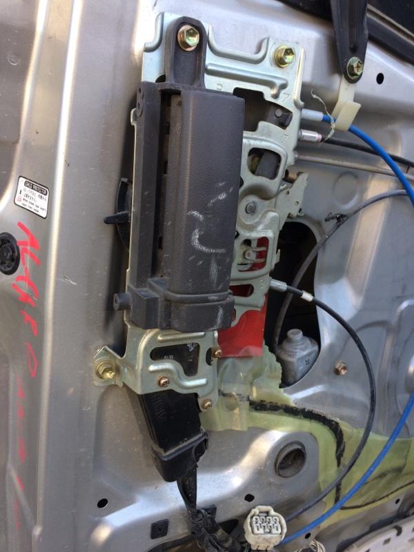 Ручка двери внутренняя Toyota Alphard ANH10 задняя правая (б/у)