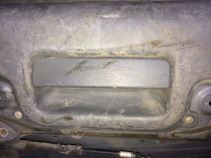 Ручка двери внутренняя Toyota Hilux Surf KZN130 задняя (б/у)