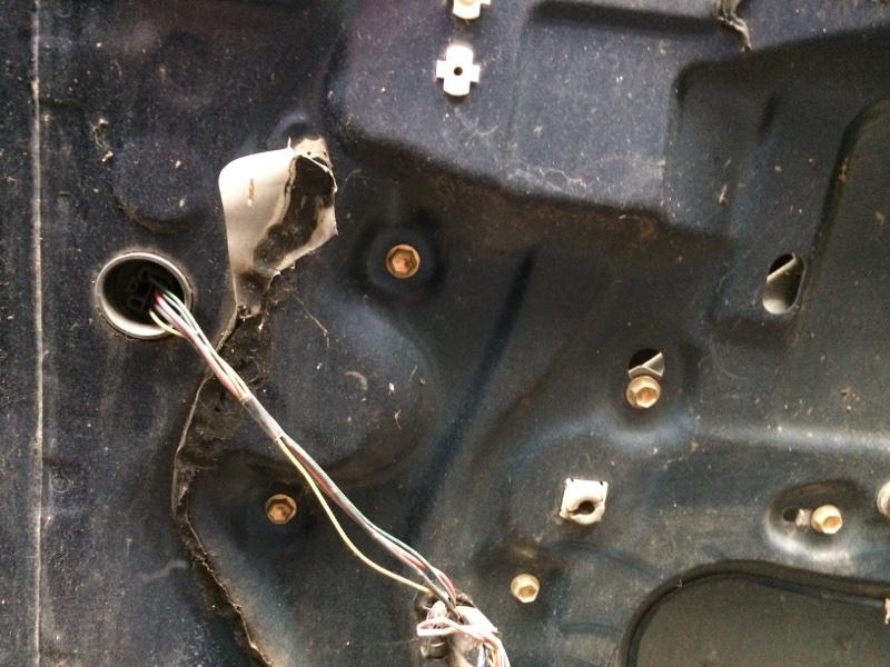Стеклоподъемник Toyota Ipsum ACM21 задний правый (б/у)