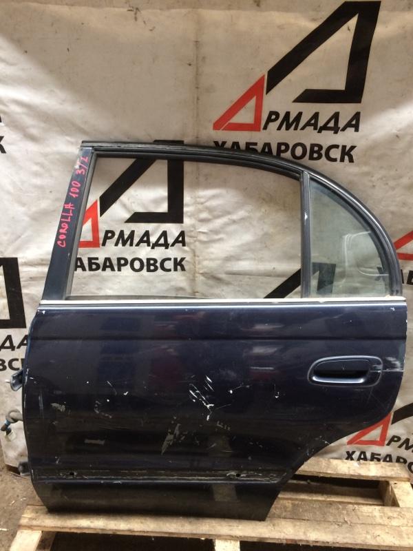 Дверь Toyota Corolla AE100 задняя левая (б/у)