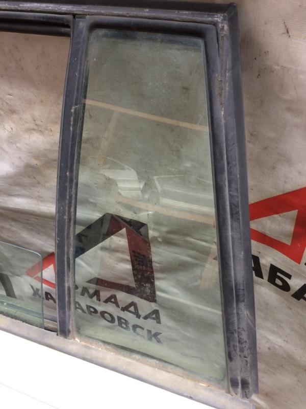 Форточка двери Toyota Caldina ET196 задняя левая (б/у)