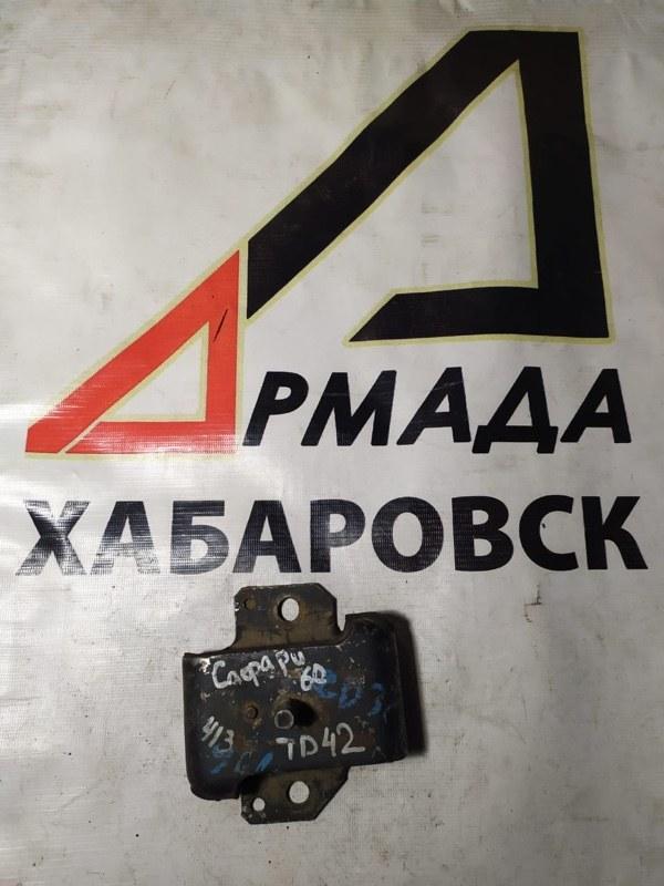 Подушка двигателя Nissan Patrol Y60 TD42 левая (б/у)
