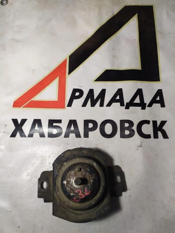 Подушка двигателя Toyota Mark Ii LX100 2L правая (б/у)