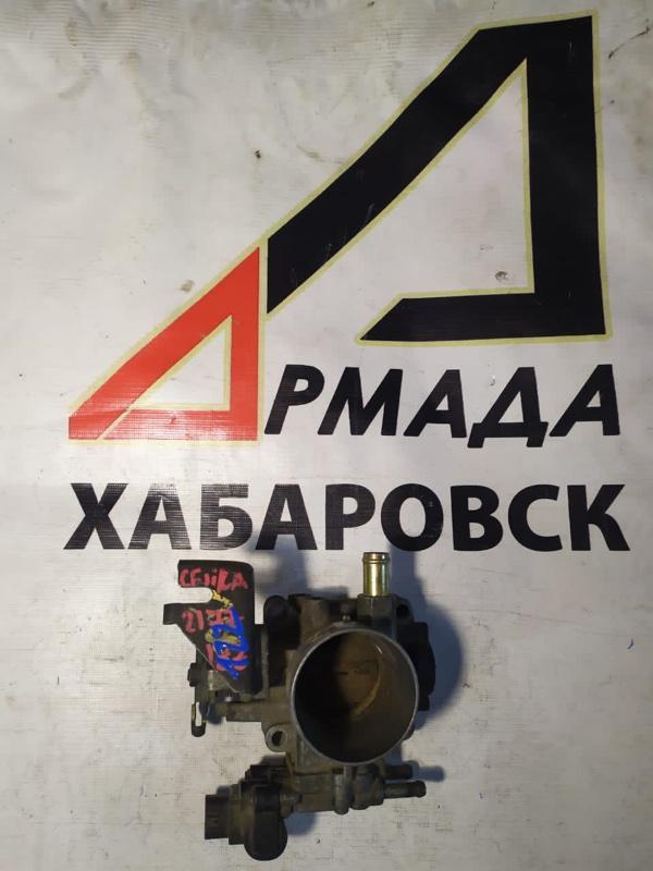 Дроссельная заслонка Toyota Corolla ZZE122 1ZZ (б/у)