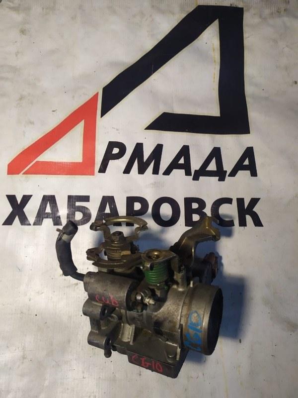 Дроссельная заслонка Nissan March K11 CG10 (б/у)
