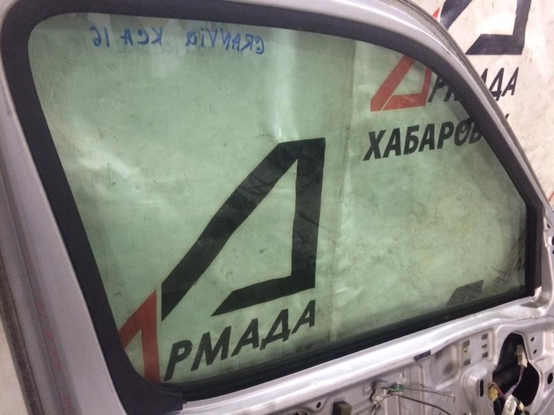 Стекло двери Toyota Granvia KCH16 переднее левое (б/у)