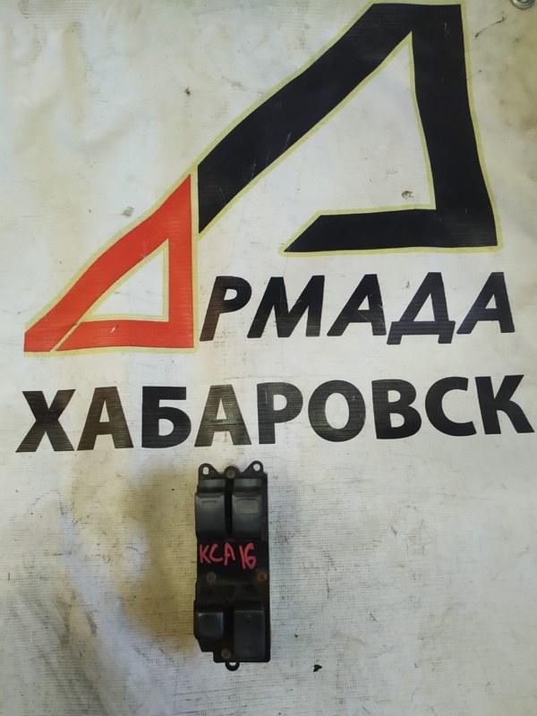 Пульт стеклоподъемника Toyota Granvia KCH16 правый (б/у)