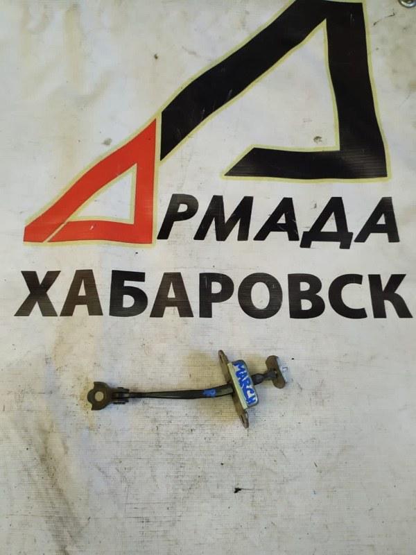 Ограничитель двери Nissan March AK12 передний правый (б/у)
