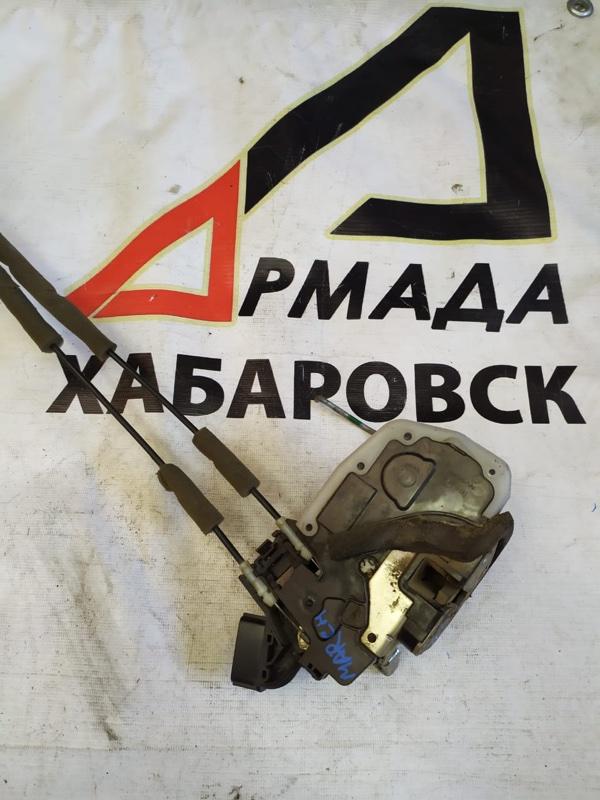 Замок двери Nissan March AK12 передний правый (б/у)