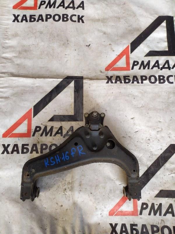 Рычаг Toyota Granvia KCH16 1KZ правый нижний (б/у)