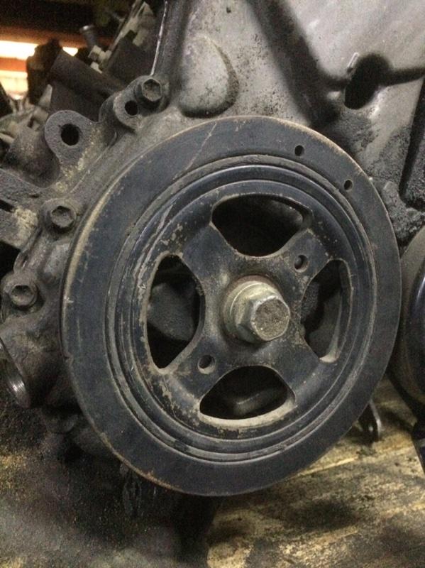 Шкив коленвала Toyota Belta NCP96 2NZ (б/у)