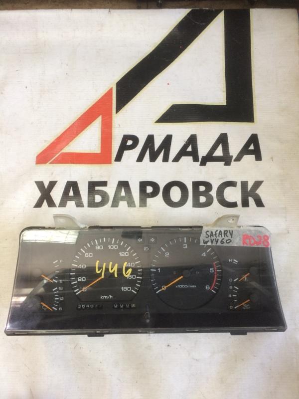 Панель приборов Nissan Safari WYY60 RD28 (б/у)