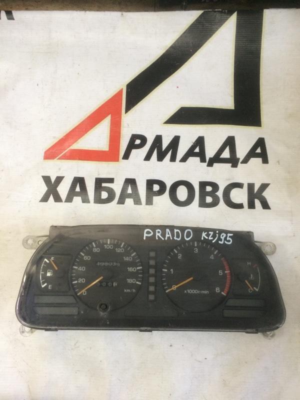 Панель приборов Toyota Land Cruiser Prado KZJ95 1KZ (б/у)