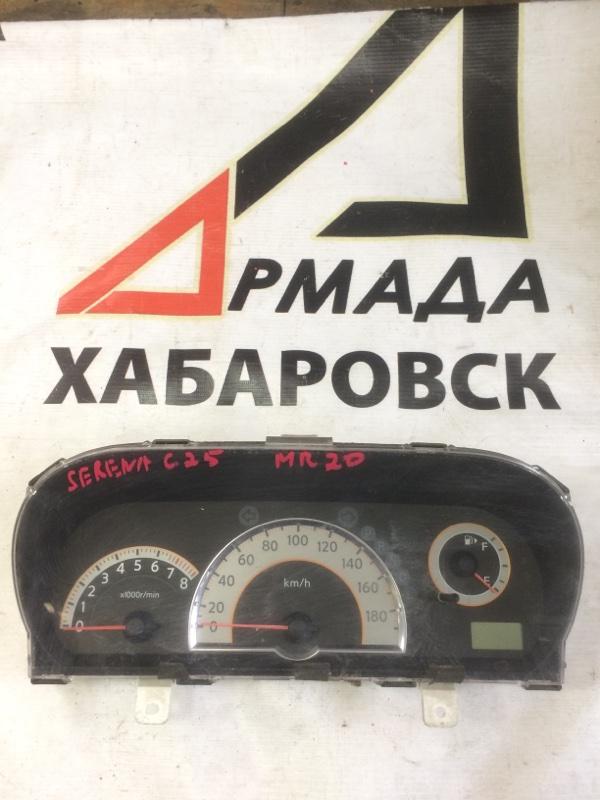 Панель приборов Nissan Serena C25 MR20 (б/у)