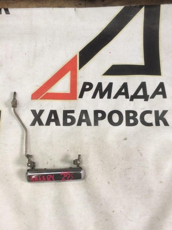 Ручка двери внешняя Nissan Safari VRGY60 передняя правая (б/у)