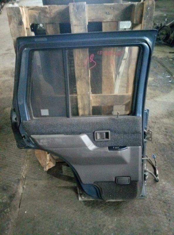 Уплотнительная резинка на стекло двери Nissan Terrano 21 TD27 задняя левая (б/у)