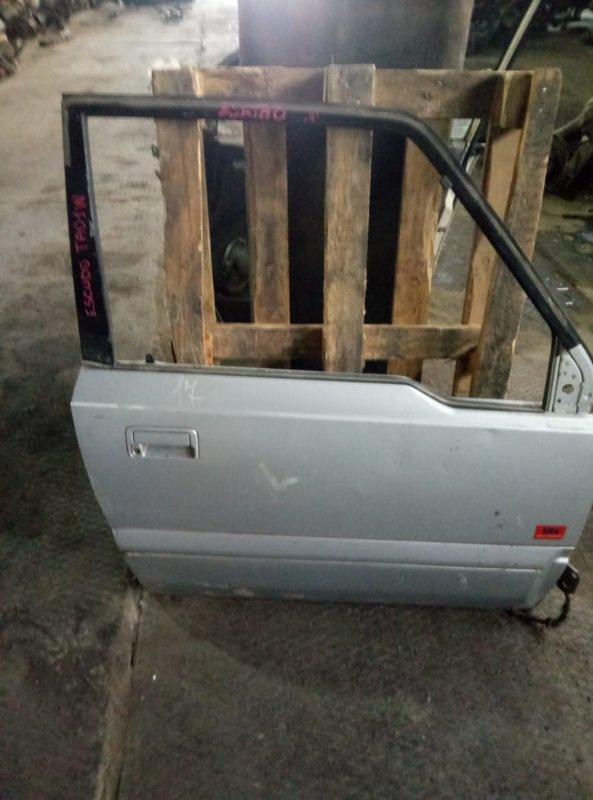 Ручка двери внешняя Suzuki Escudo TA01W передняя правая (б/у)