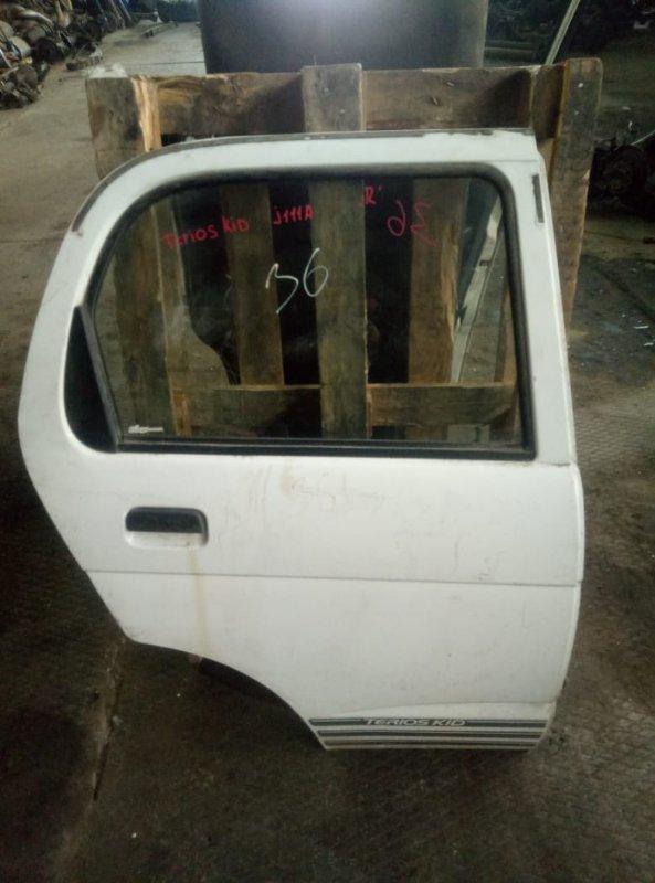 Уплотнительная резинка на стекло двери Daihatsu Terios Kid J111A EF задняя правая (б/у)