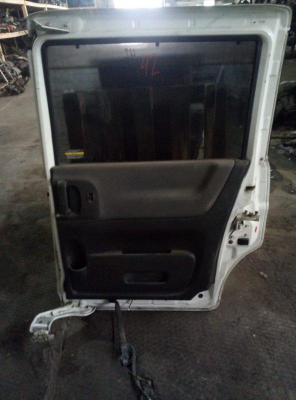 Дверь боковая (раздвижная) Nissan Serena C25 MR20 задняя правая (б/у)
