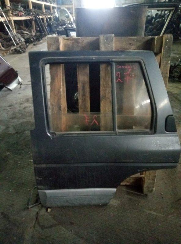 Уплотнительная резинка на стекло двери Nissan Terrano WHYD21 задняя левая (б/у)