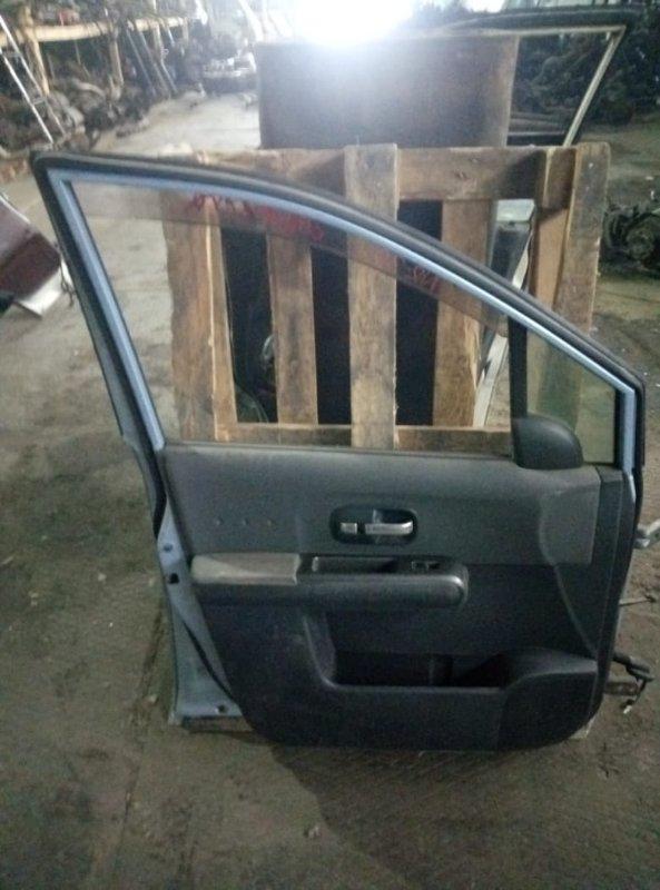 Уплотнительная резинка на стекло двери Nissan Lafesta NR30 MR20 передняя левая (б/у)
