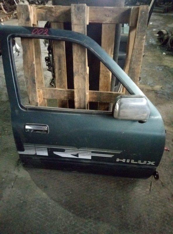 Уплотнительная резинка на стекло двери Toyota Hilux Surf KZN130 1KZ передняя правая (б/у)