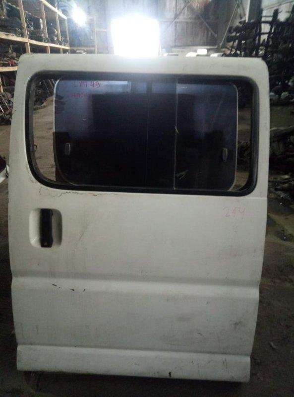Дверь боковая (раздвижная) Toyota Regius LXH49 5L задняя левая (б/у)