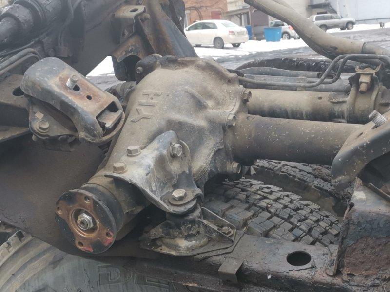 Рулевой редуктор Toyota Dyna LY162 5L задний (б/у)