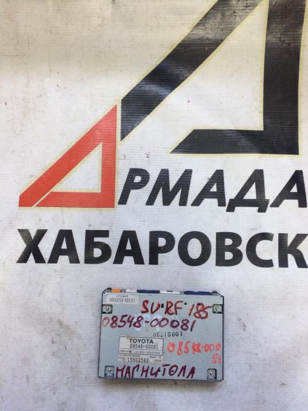 Блок управления магнитолой Toyota Surf KZN185 (б/у)