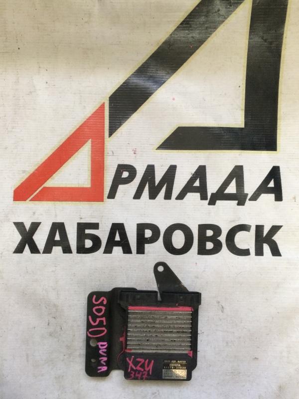 Блок управления форсунками Toyota Dyna XZU347 S05D (б/у)