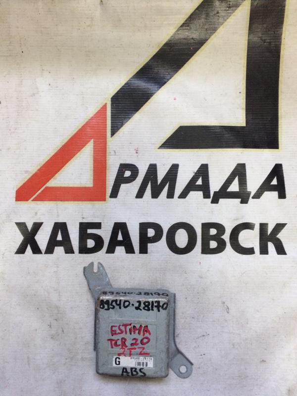 Блок управления abs Toyota Estima TCR20 2TZ (б/у)