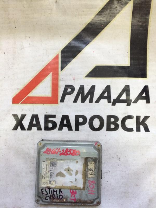 Блок управления efi Toyota Estima CXR10 3CT (б/у)