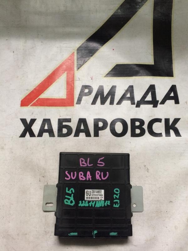 Блок управления efi Subaru Legacy BL5 EJ20 (б/у)