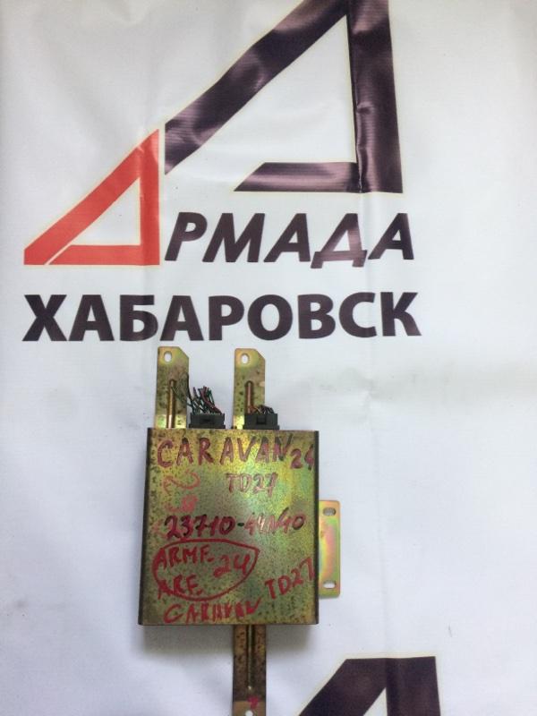 Блок управления efi Nissan Caravan ARME24 TD27 (б/у)