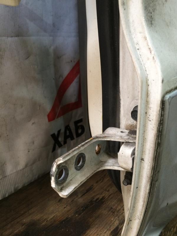 Петли на дверь Mitsubishi Pajero V75W 6G74 задние левые нижние (б/у)