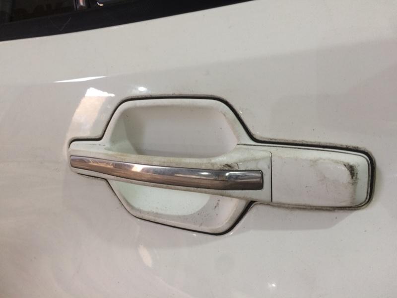 Ручка двери внешняя Mitsubishi Pajero V75W 6G74 задняя левая (б/у)