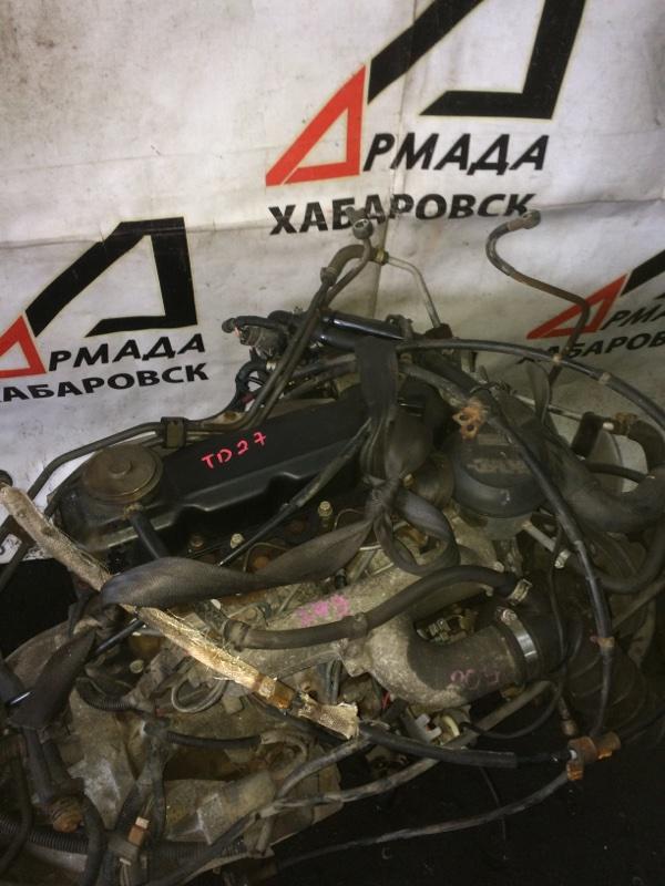 Двигатель Nissan Atlas P8F23 TD27 (б/у)