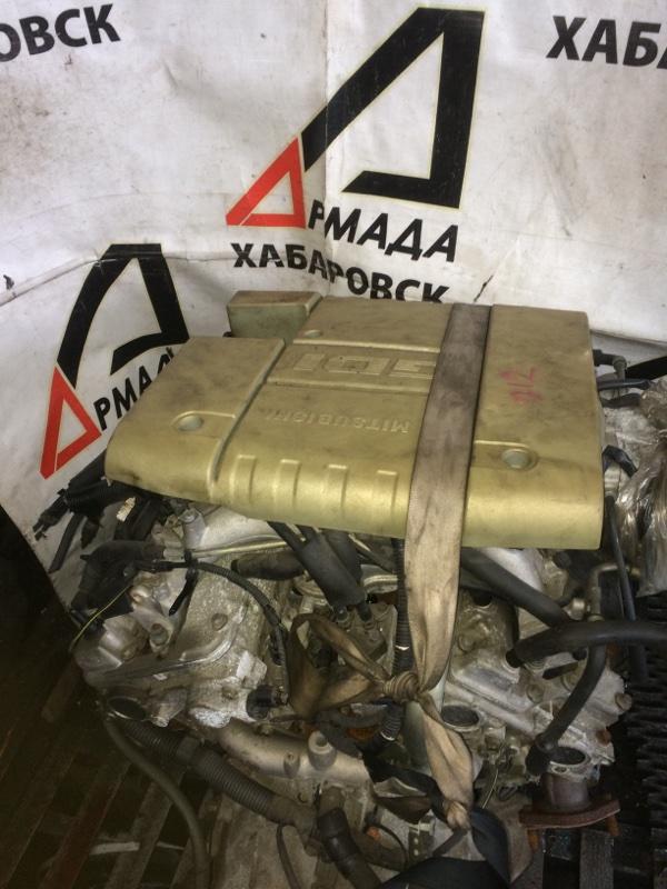 Двигатель Mitsubishi Pajero V75W 6G74 (б/у)