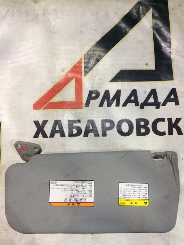 Козырек солнцезащитный Mitsubishi Pajero V75W 6G74 левый (б/у)