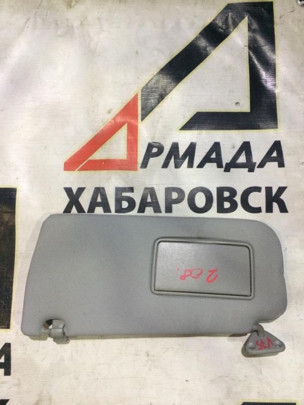 Козырек солнцезащитный Mitsubishi Pajero V75W 6G74 правый (б/у)