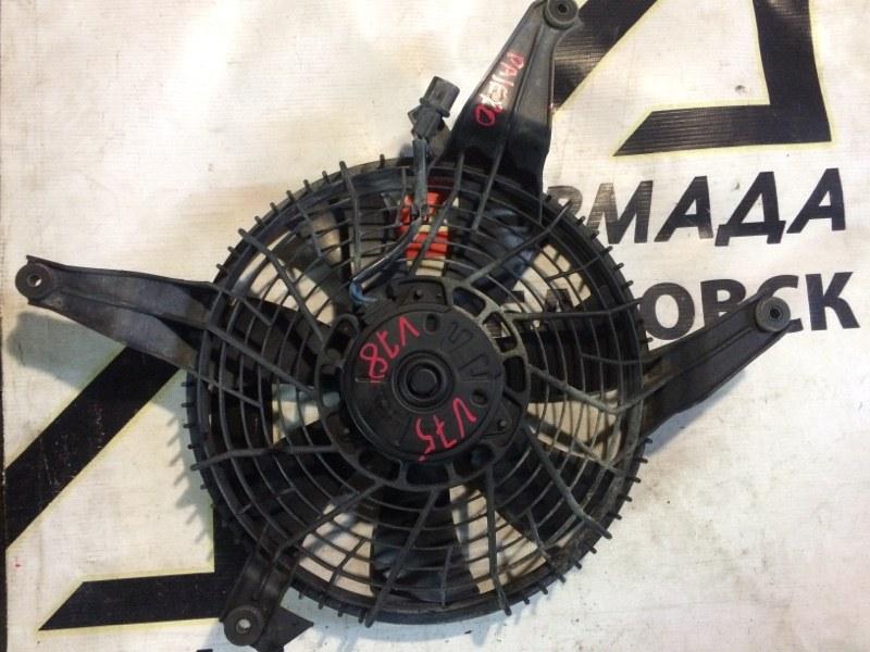 Вентилятор радиатора кондиционера Mitsubishi Pajero V75W 6G74 (б/у)