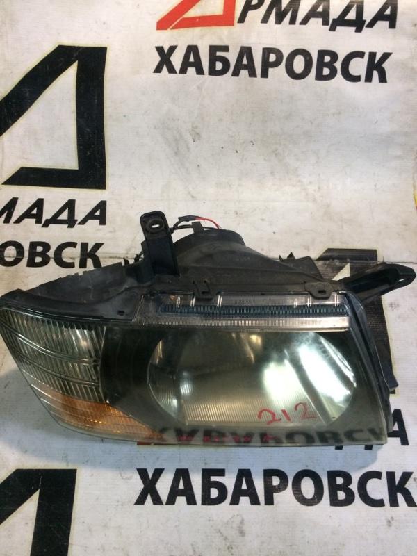 Фара Mitsubishi Pajero V75W 6G74 правая (б/у)