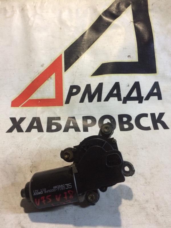 Мотор дворников Mitsubishi Pajero V75W 6G74 передний (б/у)