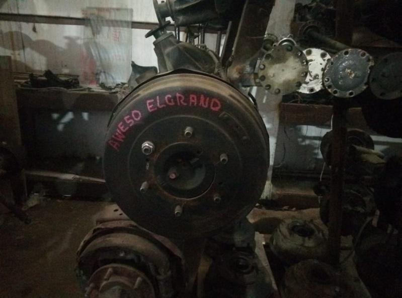 Барабан тормозной Nissan Elgrand AVWE50 QD32 задний (б/у)