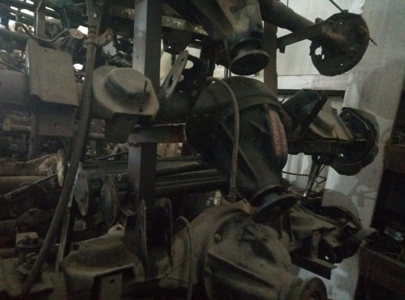 Чулок моста Nissan Terrano LBYD21 TD27 задний (б/у)